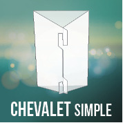 125 Chevalet SIMPLE -